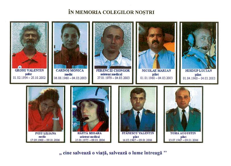 In memoria colegilor nostri