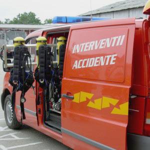 Masina mica de interventie accidente rutiere
