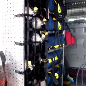 Masina de suport logistic - echipamente
